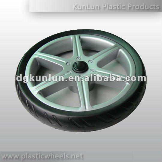 ... のベビーカーの車輪中国製