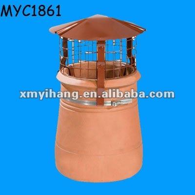 Hot conception tanche capuchon de pluie en terre cuite chemin e imperm able id du produit - Chapeau cheminee terre cuite ...