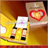 Elegant packaging box for wine
