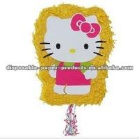 Wholesale Hello Kitty Pull String Pinata
