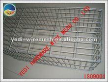 HOT!!!! HOT !!!! HALEY galvanized /galfan/PVC/PE welded wire mesh gabion box/ basket / mattress
