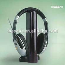 2012 popular wireless headphone with MIC support web chat