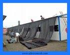 black wowen sun shade netting