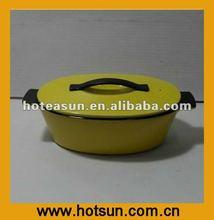 New Multi-color Oval Flame Top Ceramic Risotto Pot 1A595