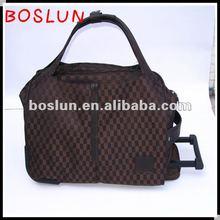 2012 hotsale large capacity trolley traveling bag
