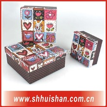 2012 High quality hot sale paper gift box