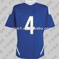 Manga curta equipe de uniformes de futebol