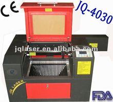 mini/desktop arts&crafts laser engraving machine JQ4030 low price