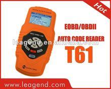 T61 OBD2 Scan Tool with Oxygen Sensor Test Multilingual Live Data