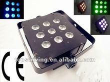 9*8W RGBW LED dmx par 9*3w led mini par