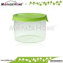 Hot sale round glass food storage