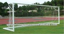 Portable Steel Soccer Goal/metal football goal