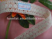 2012 natural cotton lace,cotton lace fabric