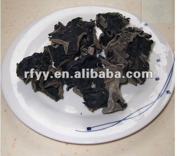 dried black auricularia