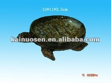 glazed ceramic animal turtle shape ashtray