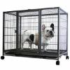 2014 iron wheels portable dog cage