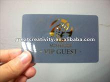 PVC plastic VIP/loyalty/privilege membership card