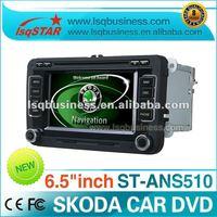 SKODA OCTAVIA VW RNS510 CAR DVD with GPS Navi door status warning & OPS IPAS supported