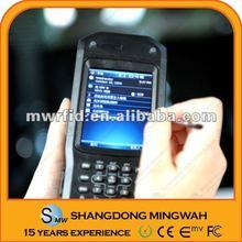 Fingerprint Biometrics RFID HF handheld reader/writer with GPS