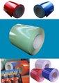 Color recubiertos& perfil galvanizado de la hoja, ppgi