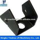 Black oxide coating of sheet metal fabrication parts