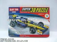 3D F1 Car Puzzle Set/Formula One Truck/DIY Game Set