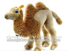 Vivid stuffed and plush desert camel