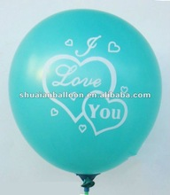 Meet EN71!100% natural Latex printing , advertiaing,promotational,party balloon