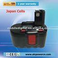 OEM 2607335562/BAT031/BAT240 de batteries de machines-outils de foret de bosch