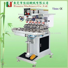 Six Colour Ink Cup Pad Printing Machine with Conveyer (Model JN-CP6-200C)