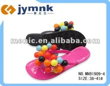 Fashion jelly slippers 2012 for women