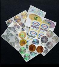 2012 New Printed Adhesive Label