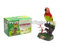 kids battery operated Electric recording parrot toy