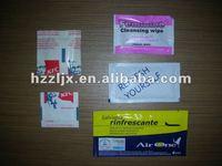 ZL-220 Automatic wet tissue machine(4 sides sealed)
