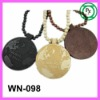 Customize hiphop Jewelry Egyptian Pendant Wood necklace