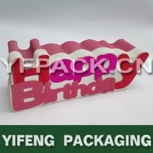 corrugated box birthday packaging