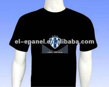 el sound activated led t shirt