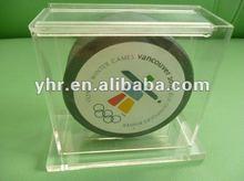 rubber hockey puck