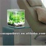 Clear square acrylic aquarium/fish tank