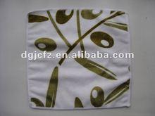 logo printed silk screen printing microfiber lens/eyeglass/ipad/mp4 cleaning cloth