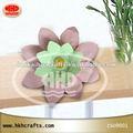 Hhd-hd02 flotante de flores de loto linternas para la fiesta