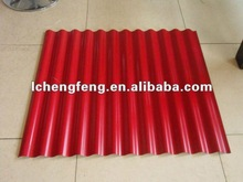 corrugated sheet metal roofing