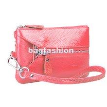PU Leather Handbag Mobile Key Wristlet Wallets