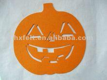 Beautiful Halloween Pumpkin Made Of Felt