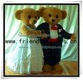 Hot saleteddy casal urso fantasias