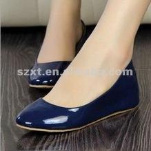 2012 Lastest design fashionable women flat shoes XT-shp11