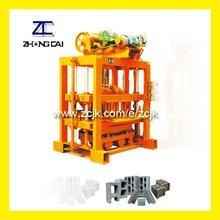ZCJK QTJ4-40II Small Hand Press Concrete Brick Making Machines in South Africa