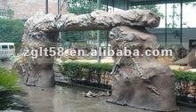 large outdoor sculptures display garden