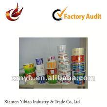 2012 self adhesive pvc adhesive label for printing