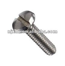 W.NR 2.4858 Pan head slotted screw NCF825 AWS 022 N08825 Nickle Chromium Alloy